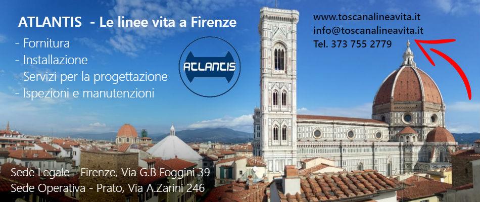 ATLANTIS Linee Vita a Firenze