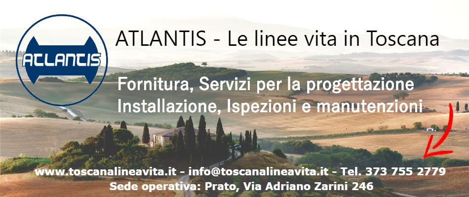 ATLANTIS Linee Vita Regione Toscana