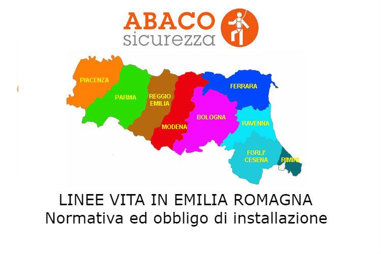 linee vita Emilia Romagna