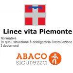 Linee vita in Piemonte