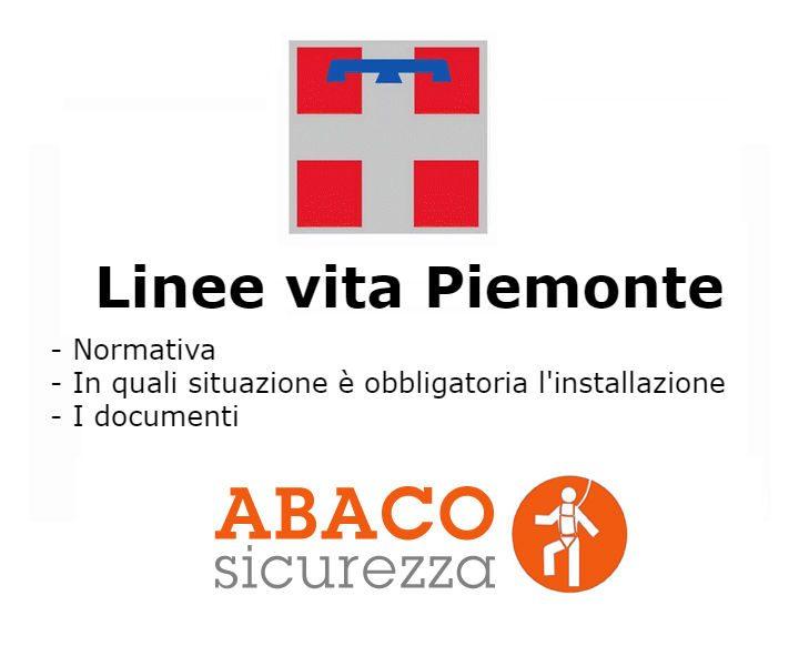 linee vita Piemonte