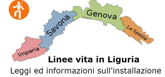 linee vita Liguria